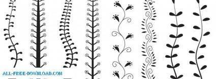 free vector Decorative Plants