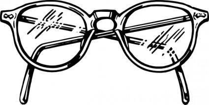 Spectacles clip art