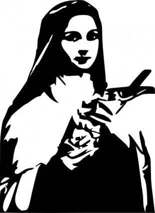 Sainttherese clip art
