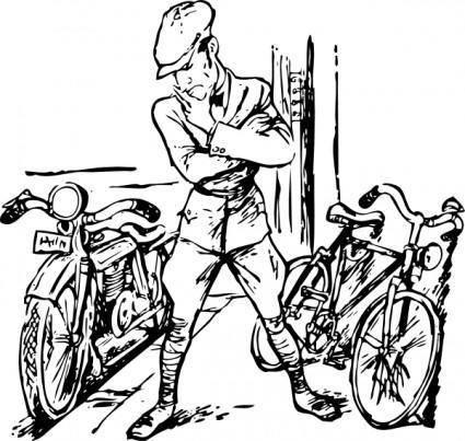 free vector Bike Motorcycle clip art