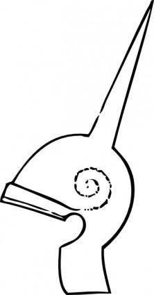Greek Helmet clip art