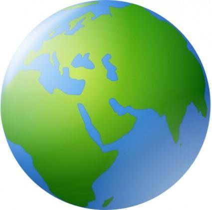 free vector World Globe clip art