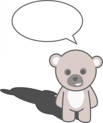 Stellaris Cute Teddy Bear clip art