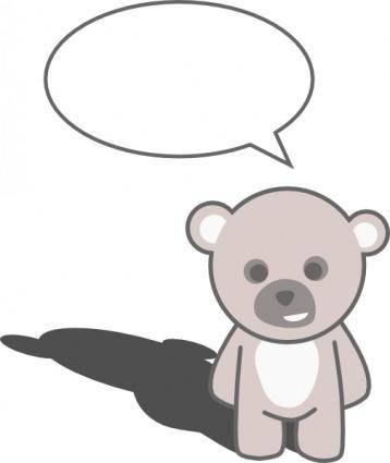 Stellaris Cute Teddy Bear clip art