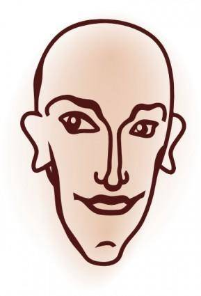 Head clip art
