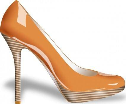 free vector Shoe High Heel clip art