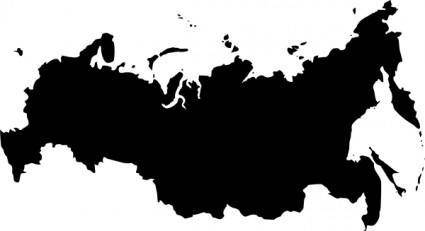 free vector Babayasin Russia Outline Map clip art