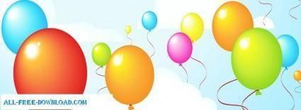 free vector Vector Balloons
