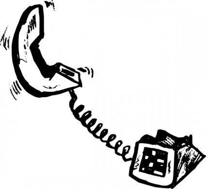 free vector Telephone clip art