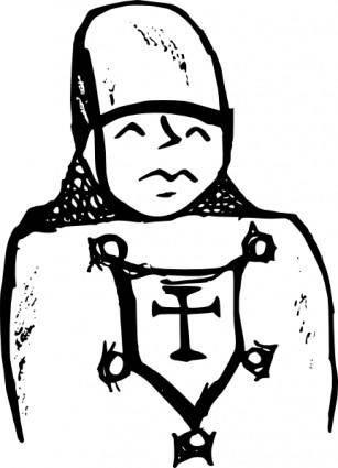 Crusader clip art