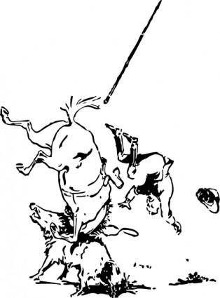 free vector An Overthrow clip art