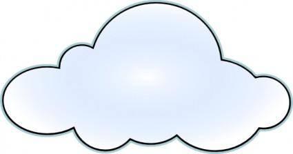 Csc Net Wan Cloud clip art