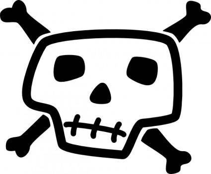 Skull And Bones clip art