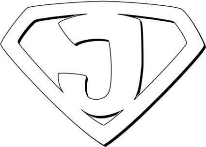 Super Jesus clip art