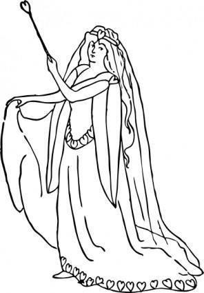 A Character Representing Love clip art