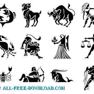 free vector Zodiac