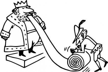 King And Citizen clip art