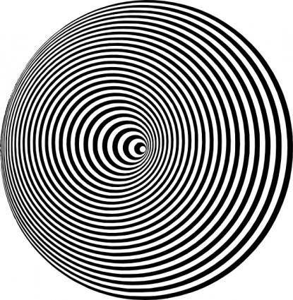 Optical Illusion clip art