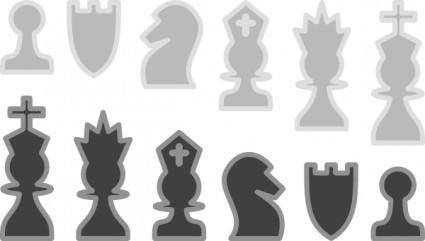 Chess Pieces Gallery clip art