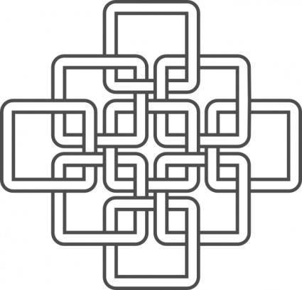 free vector Inspired Knots clip art