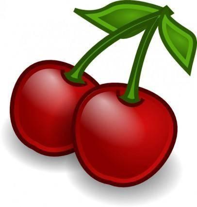 Rocket Fruit Cherries clip art