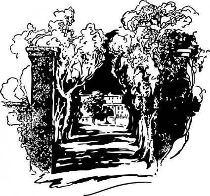 Villa Of Leopold clip art