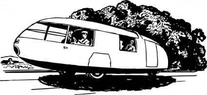free vector Three Wheels Car clip art