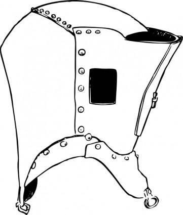 free vector The Fogge Helmet clip art