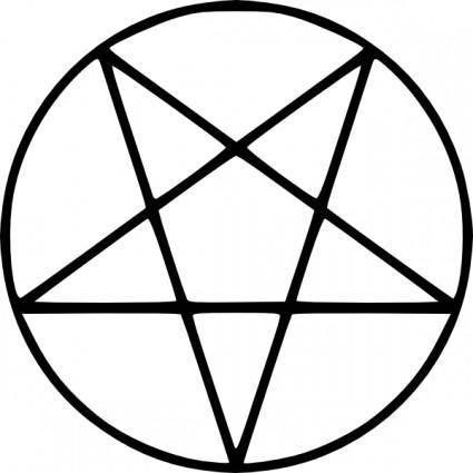 Pentagram clip art