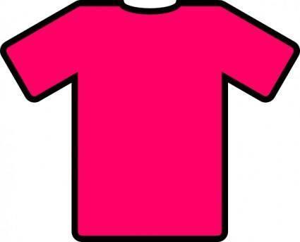 Pink T Shirt clip art