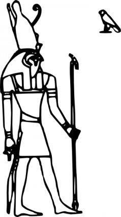 free vector Horus clip art