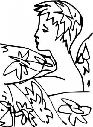 free vector Cordiana Laura clip art