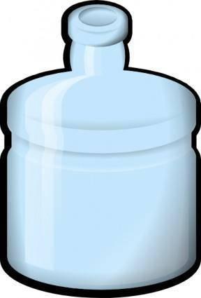 free vector Jonata Water Bottle clip art