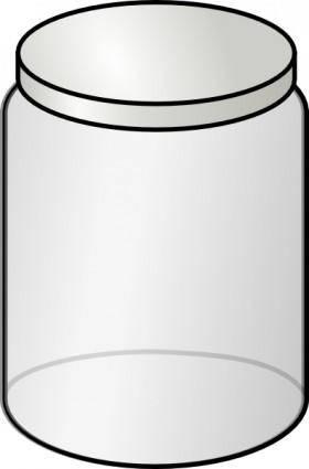 Glass Jar clip art
