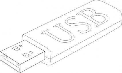 free vector Usb Stick clip art