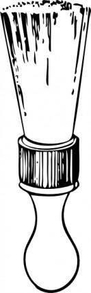 free vector Shaving Brush clip art