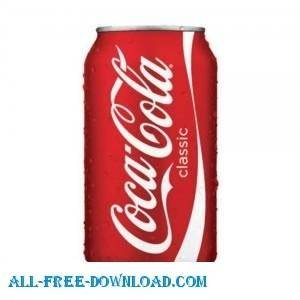 free vector Coke Can