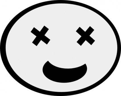 Funny Face clip art