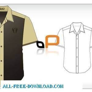 Short Sleeved Shirt Template