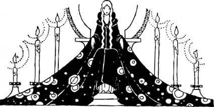 Princess Rosette clip art