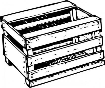 Tomato Crate clip art