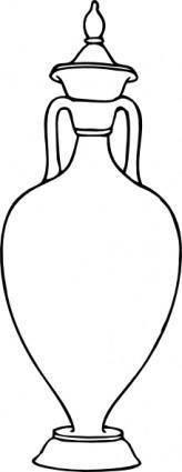 free vector Greek Amphora clip art