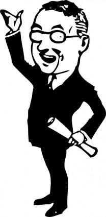 free vector Businessman clip art