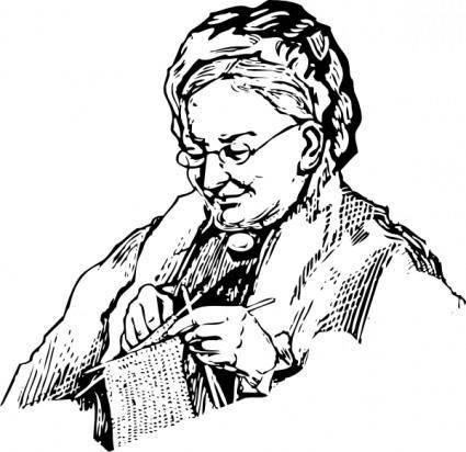 free vector Granny clip art