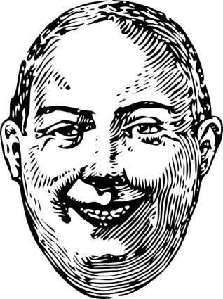 free vector Fat Man clip art