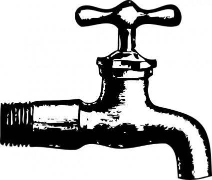 Faucet clip art