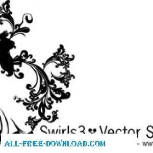 free vector Swirls 3