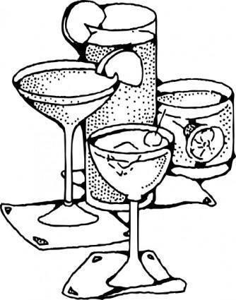 free vector Bar Drinks clip art