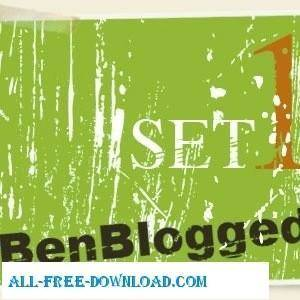 free vector Grunge Set 1