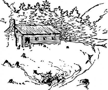 Cabin clip art